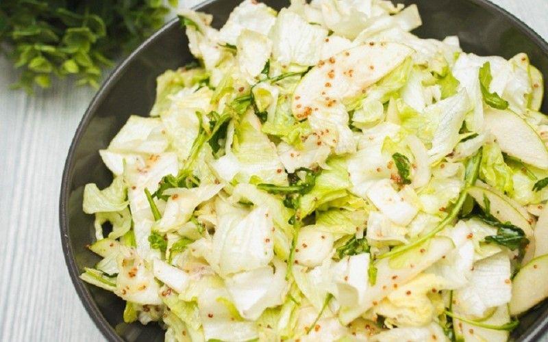 Салаты с листовым цикорием - 4 вкусных и необычных рецепта