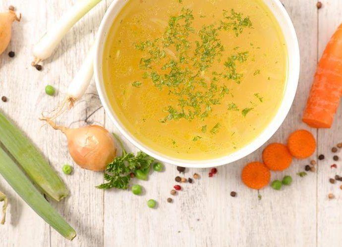Овощной бульон для простых супов