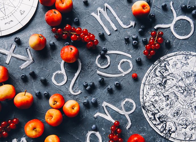 Кулинарный гороскоп для 12 знаков Зодиака - список рекомендуемых блюд и продуктов