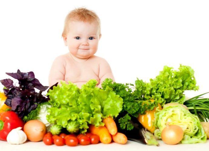 Какие овощи полезны для ребенка