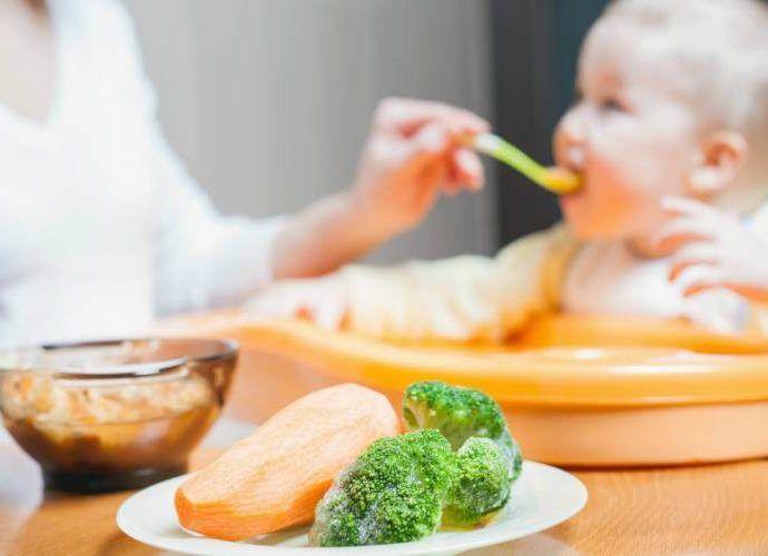 Детское питание на первом году жизни