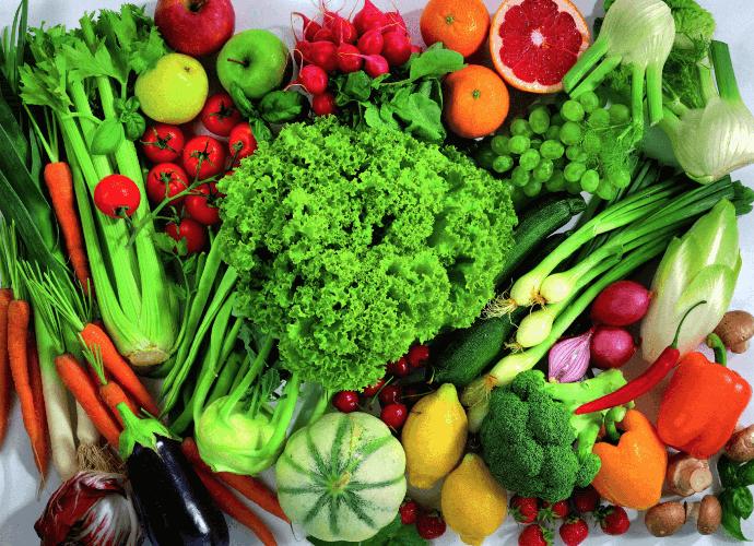 Диета на овощах для похудения - меню овощной диеты на 1 день