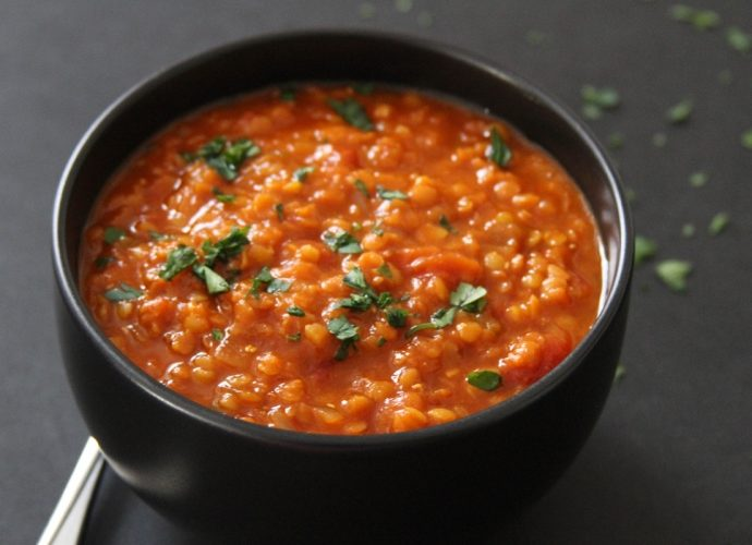 Суп из красной чечевицы в мультиварке