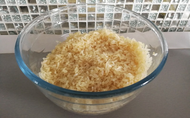 Рис промыть