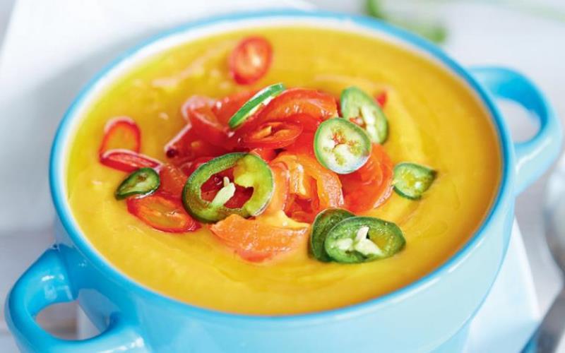 Тыквенный суп-пюре с о сливками