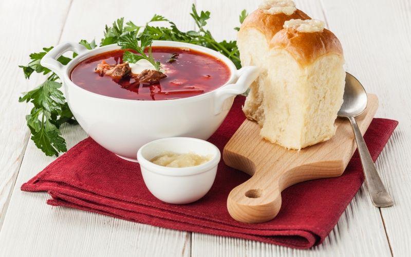 Борщ украинский - классический рецепт