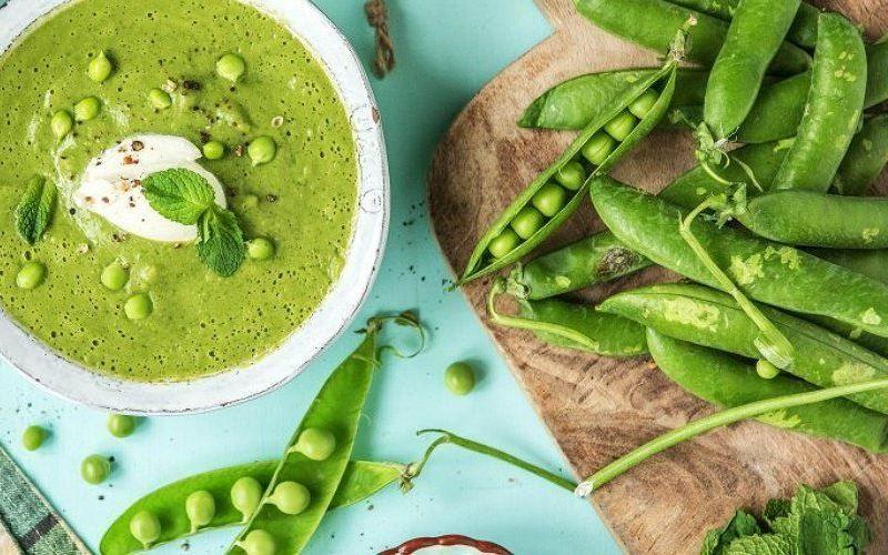 Суп с зеленым горошком: 4 простых рецепта горячих и холодных первых блюд