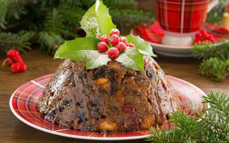 Рождественский пудинг - рецепт для детей