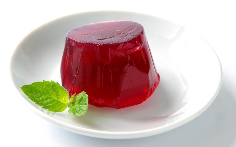 Желе из ягодного сока