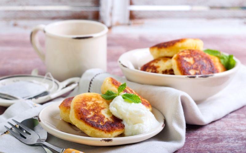 Сырники к завтраку