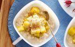 Рисовый пудинг с фруктами