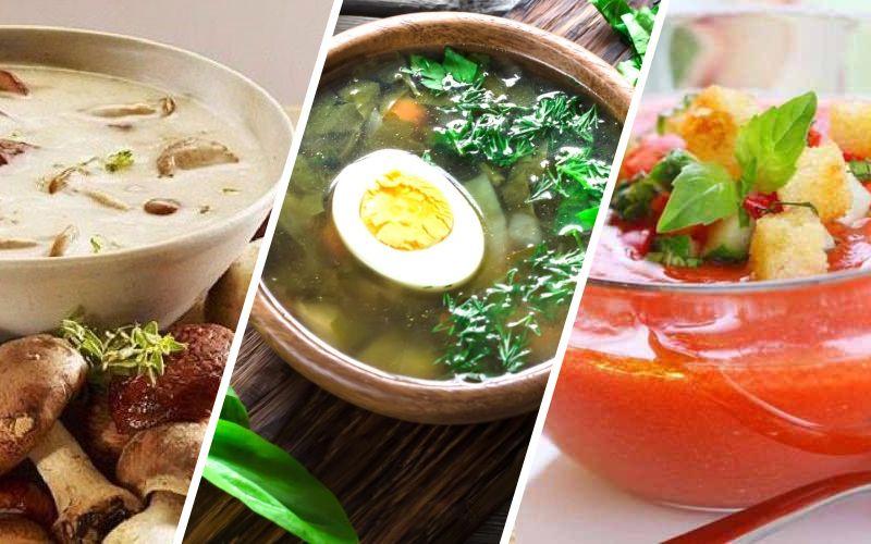 Летние легкие супы: рецепты гаспачо, холодника и борща
