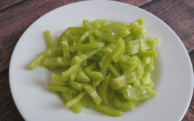 Рецепт ризотто с овощами и семгой