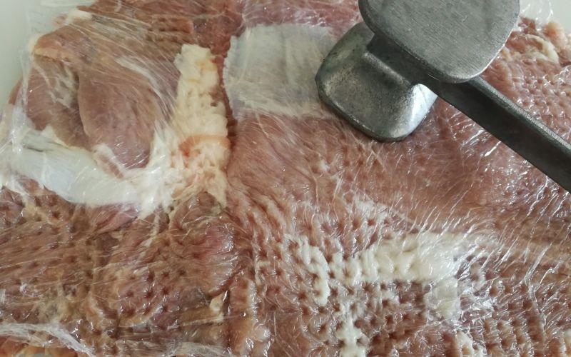 Рулет с сыром и чесноком