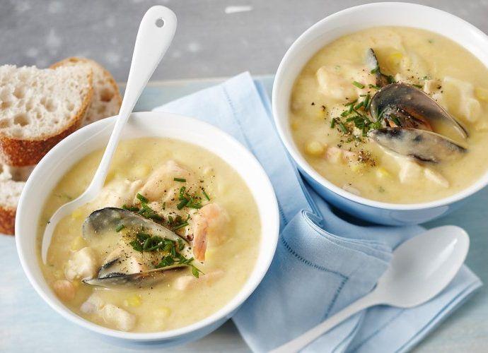 Рецепт супа чаудер по-канадски