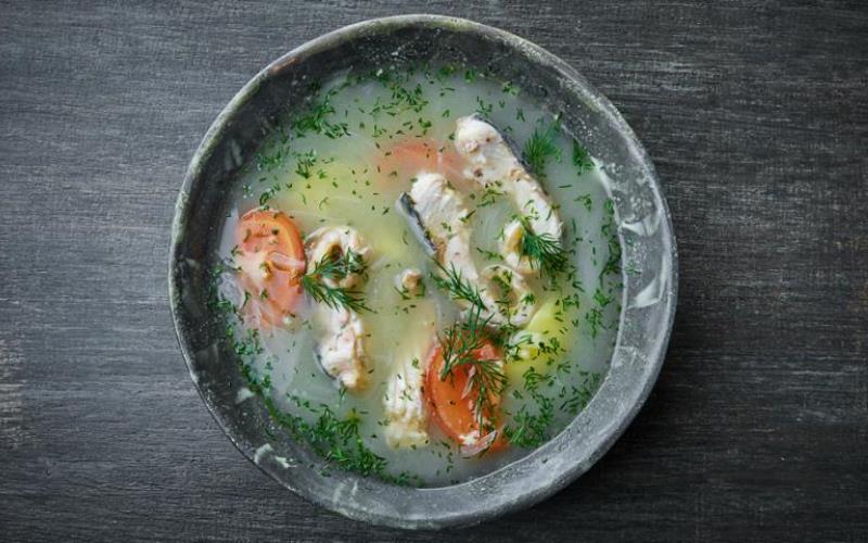Уха из стерляди с овощами - простой рецепт рыбного супа
