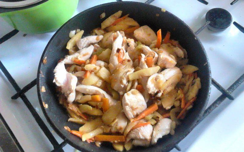 Рагу с курицей и овощами - 5 оригинальных рецептов
