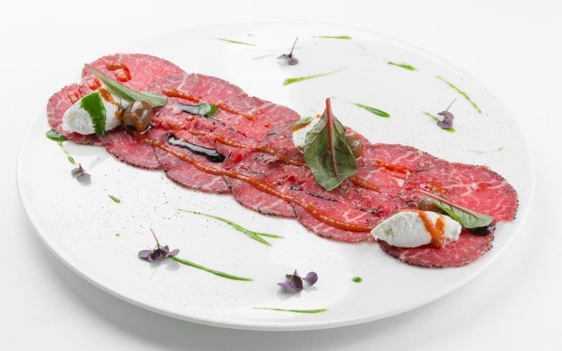Карпаччо из говядины с грибами - рецепт по-итальянски