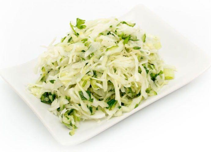 Салаты со свежей капустой - простые и вкусные рецепты