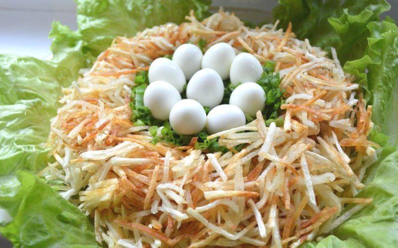 Перепелиное гнездо
