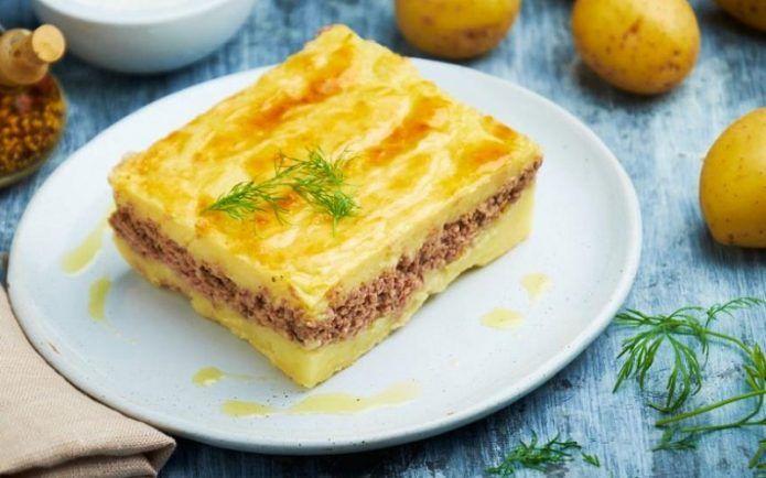 Диетическая картофельная запеканка: рецепты с фаршем, рыбой и мясом