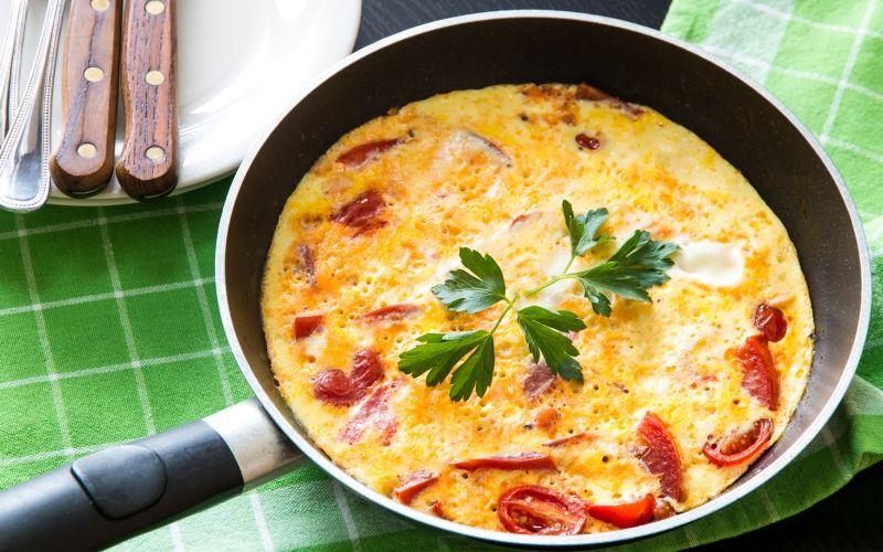 Утренний омлет: простой рецепт