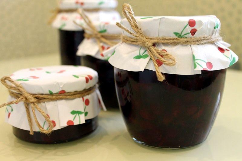 Варенье из вишни с косточками - классический рецепт