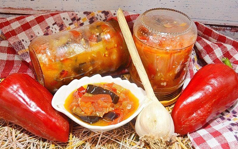 Овощное рагу из баклажанов