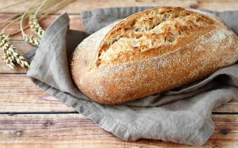 «Сырный» хлеб с чесночком