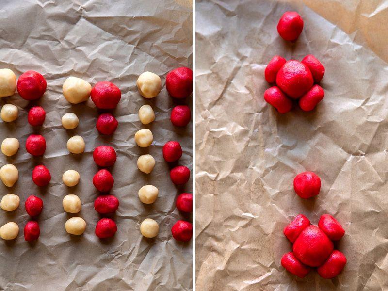 Печенье новогоднее санта-клаус
