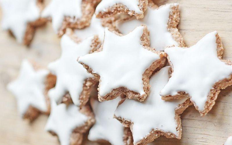 Рождественские звездочки печенье