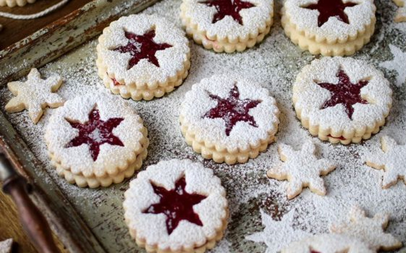Печенье домашнее рождественское