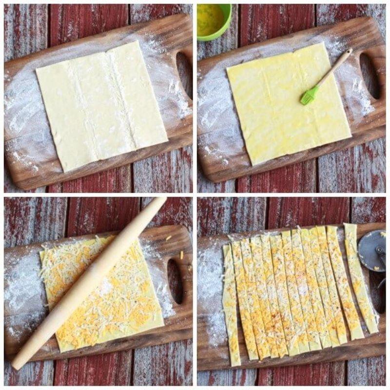 Закуска из бекона и сыра в духовке