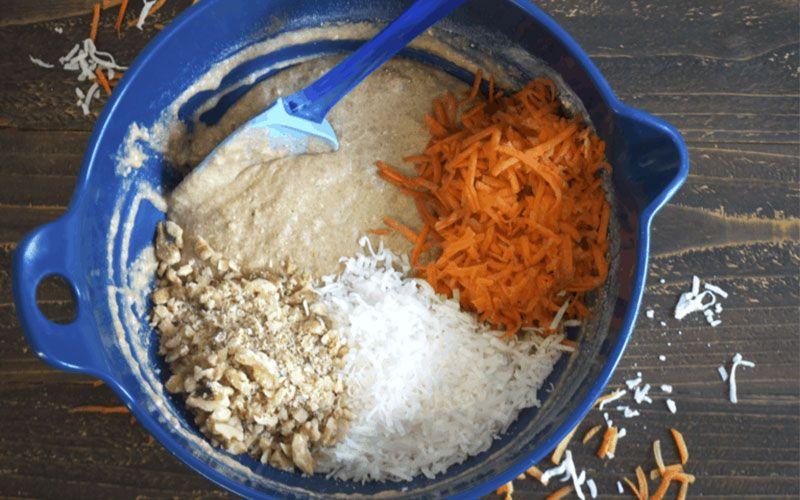 Морковные диетические маффины