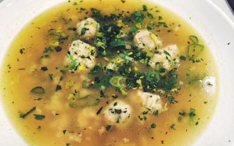 Простой рецепт супа с фрикадельками из трески