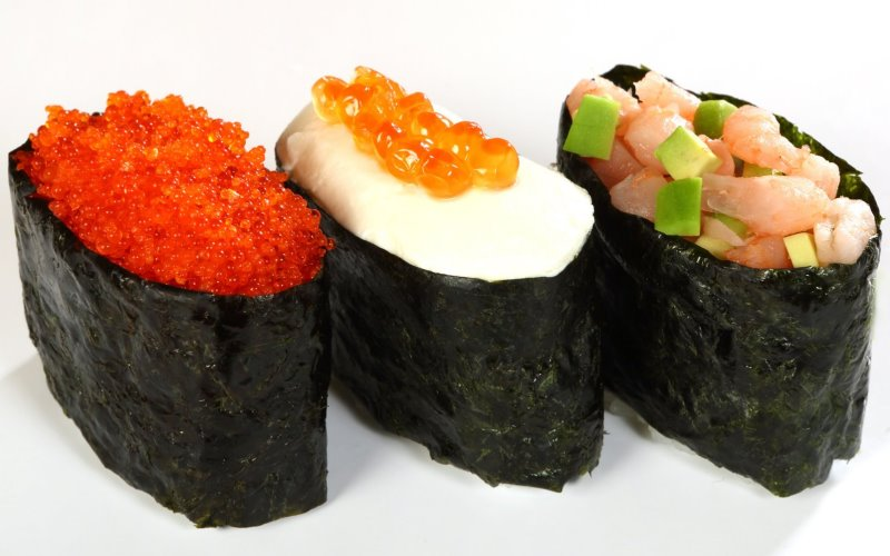 Как приготовить суши гункан