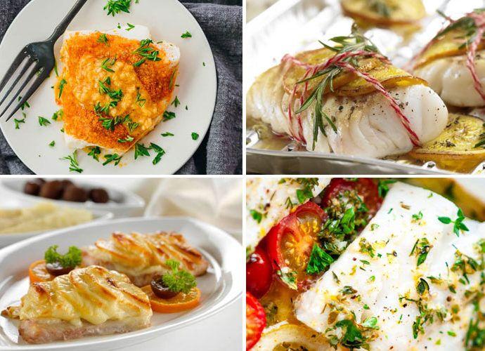 Треска запеченная в духовке: вкусные рецепты