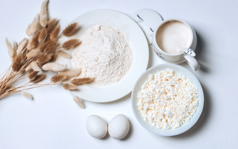 Пышные сырники - ингредиенты