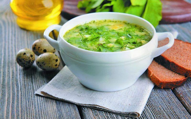 Рецепт вкусных и полезных зеленых щей