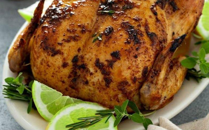 Цыпленок тандури с авокадо