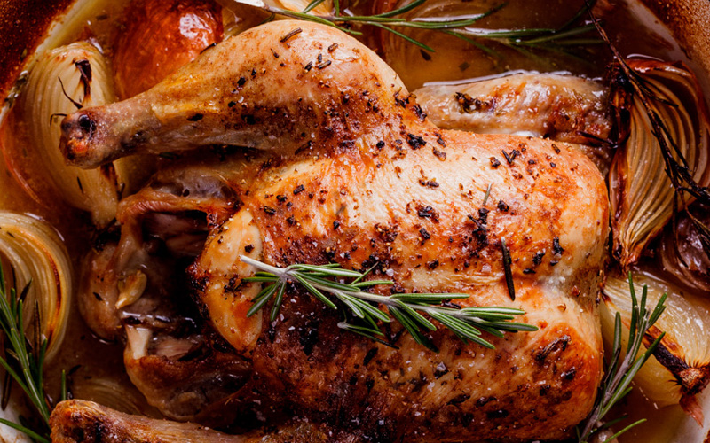 Цыпленок по-мадридски