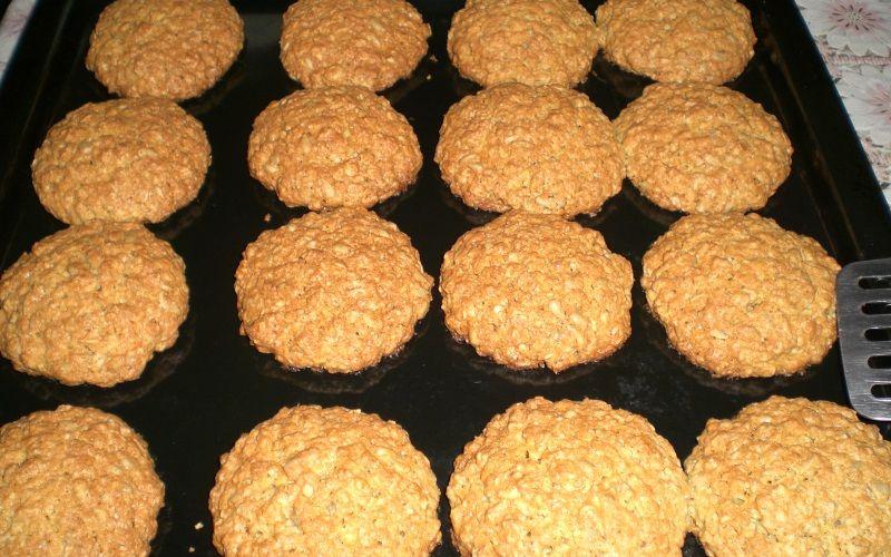 Печенье овсяное с начинкой из зефира