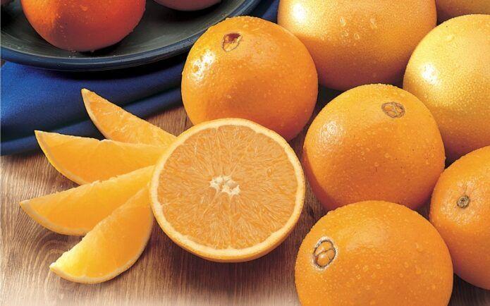 Праздничные салаты с апельсинами