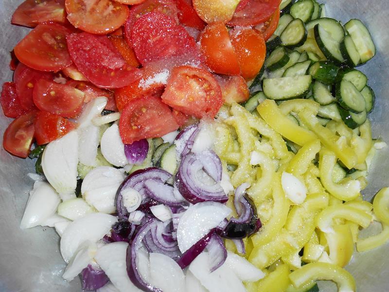 Салат на зиму измельчить