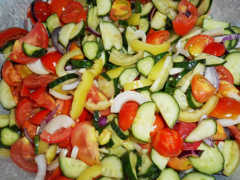 Салат на зиму смешать