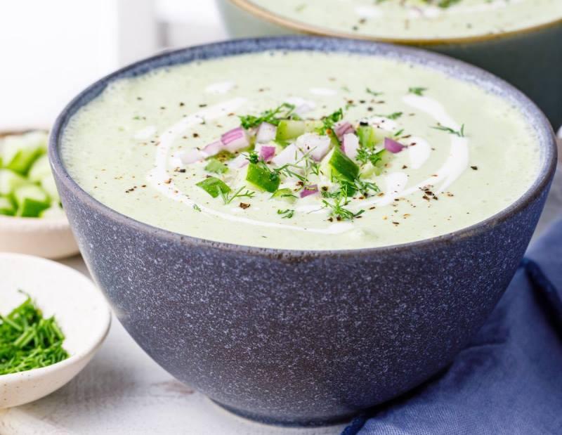 крем-суп с кабачком