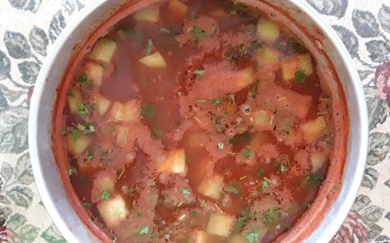 Суп кабачками - фото 9